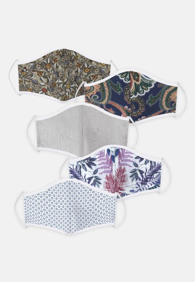 5er-Pack Mund-Nasen-Masken aus 100% Baumwolle in Pack 4    Seidensticker Onlineshop
