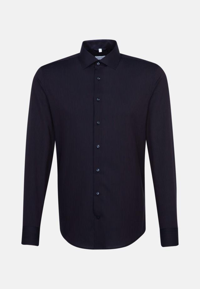 Non-iron Poplin Business Shirt in Slim with Kent-Collar in Orange |  Seidensticker Onlineshop