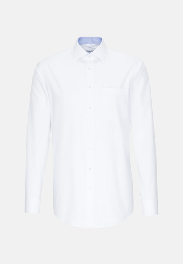 Easy-iron Oxford Business Shirt in Comfort with Kent-Collar in Light blue |  Seidensticker Onlineshop