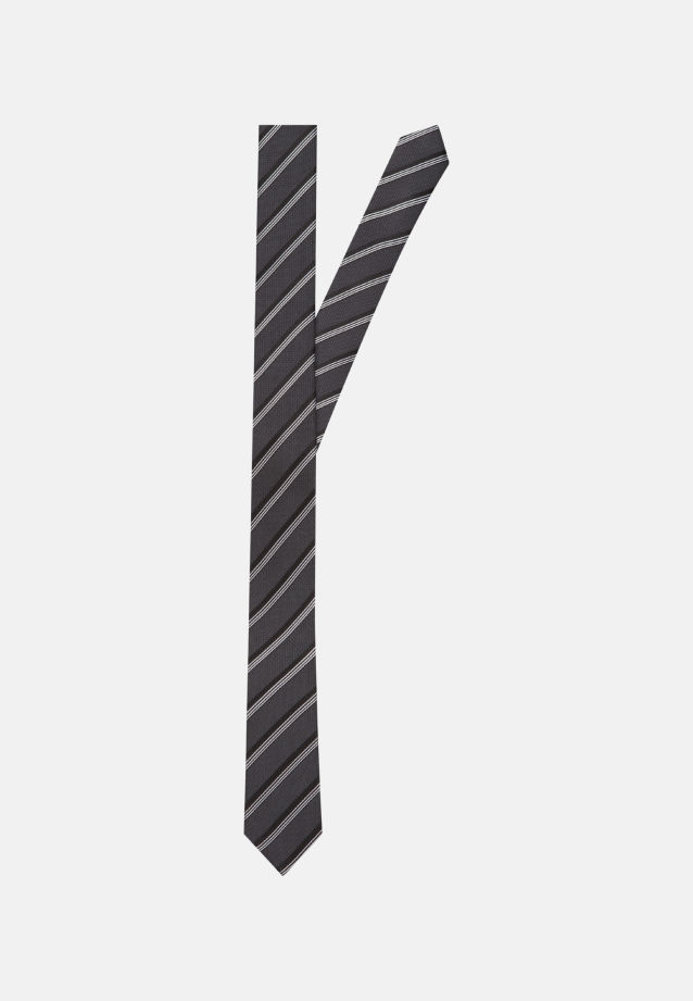 Tie made of 100% Silk 5 cm wide in anthra |  Seidensticker Onlineshop