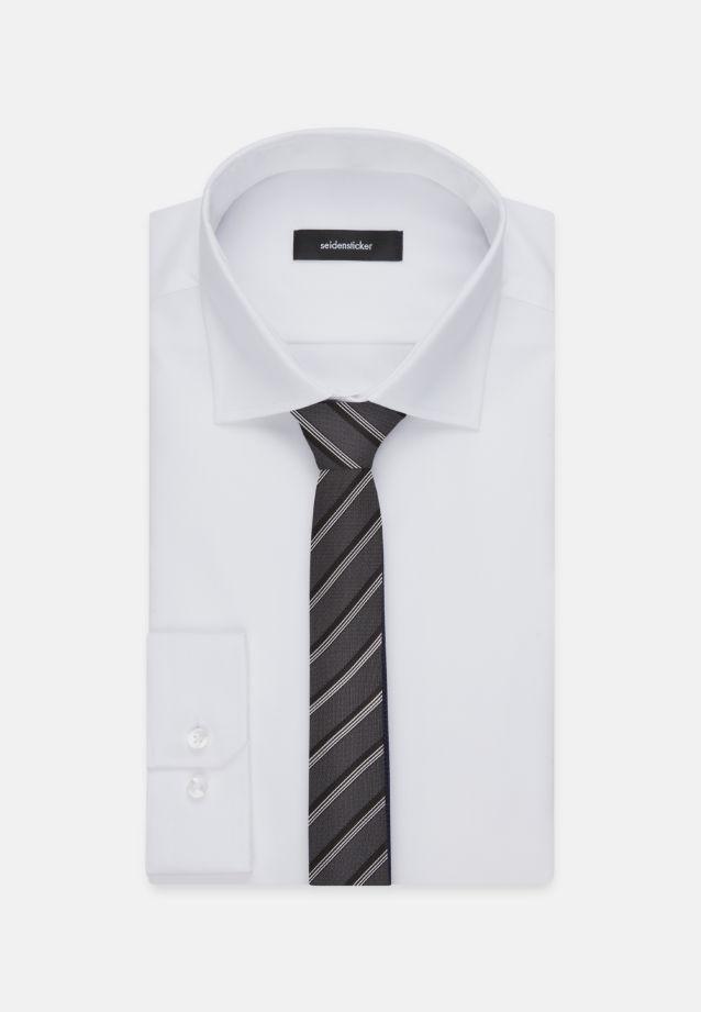Krawatte aus 100% Seide 5 cm Breit in Grau    Seidensticker Onlineshop