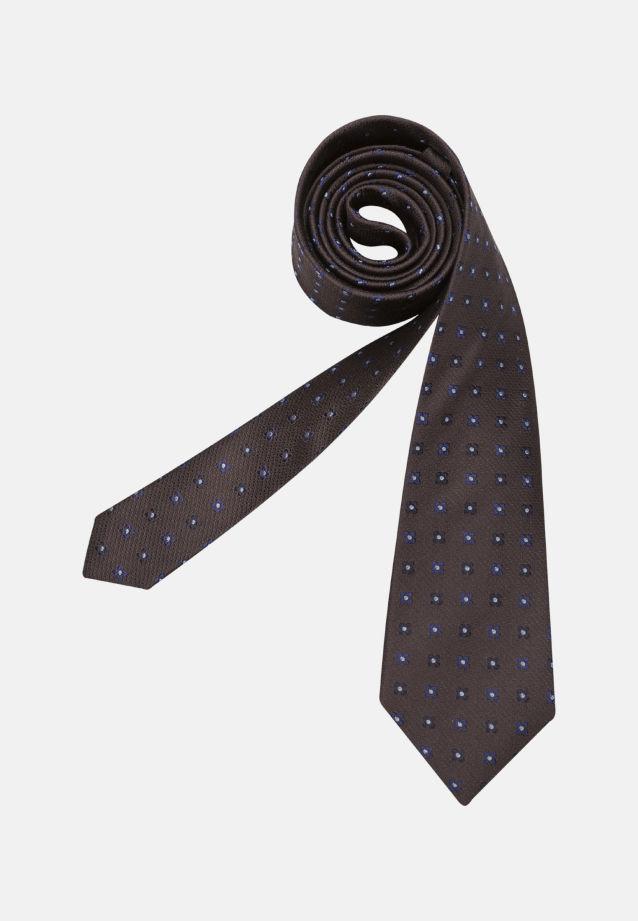 Tie made of 100% Silk 7 cm wide in braun |  Seidensticker Onlineshop