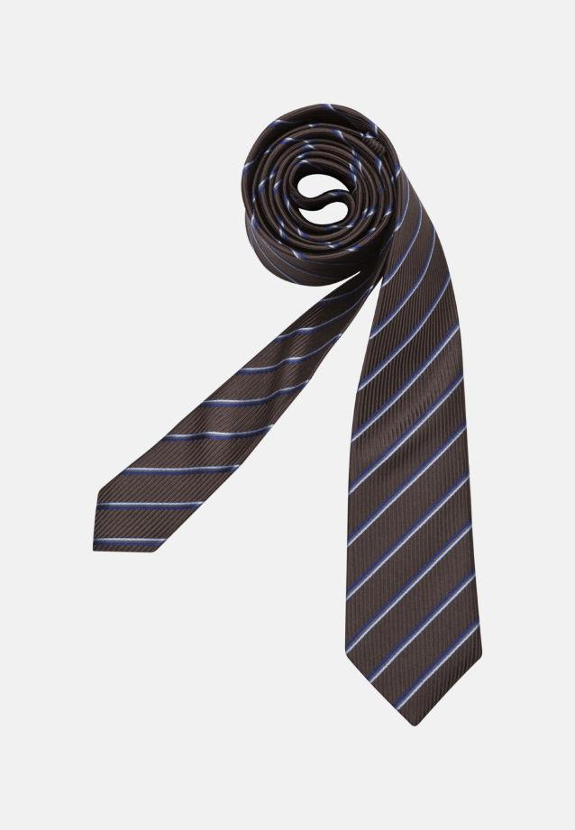 Krawatte aus 100% Seide 6 cm Breit in braun |  Seidensticker Onlineshop