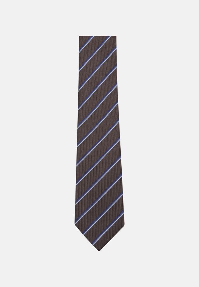 Tie made of 100% Silk 6 cm wide in Brown |  Seidensticker Onlineshop