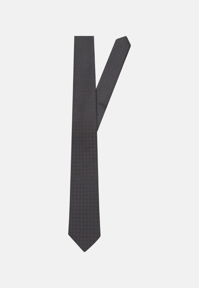 Krawatte aus 100% Seide 7 cm Breit in dunkelgrau    Seidensticker Onlineshop