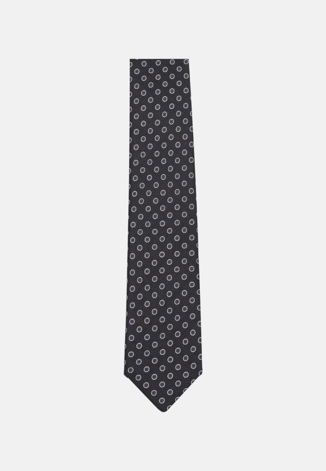 Tie made of 100% Silk 6 cm wide in schwarz |  Seidensticker Onlineshop