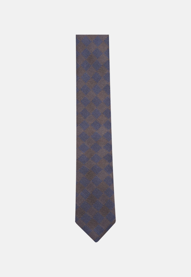 Tie made of 100% Silk 5 cm wide in braun |  Seidensticker Onlineshop