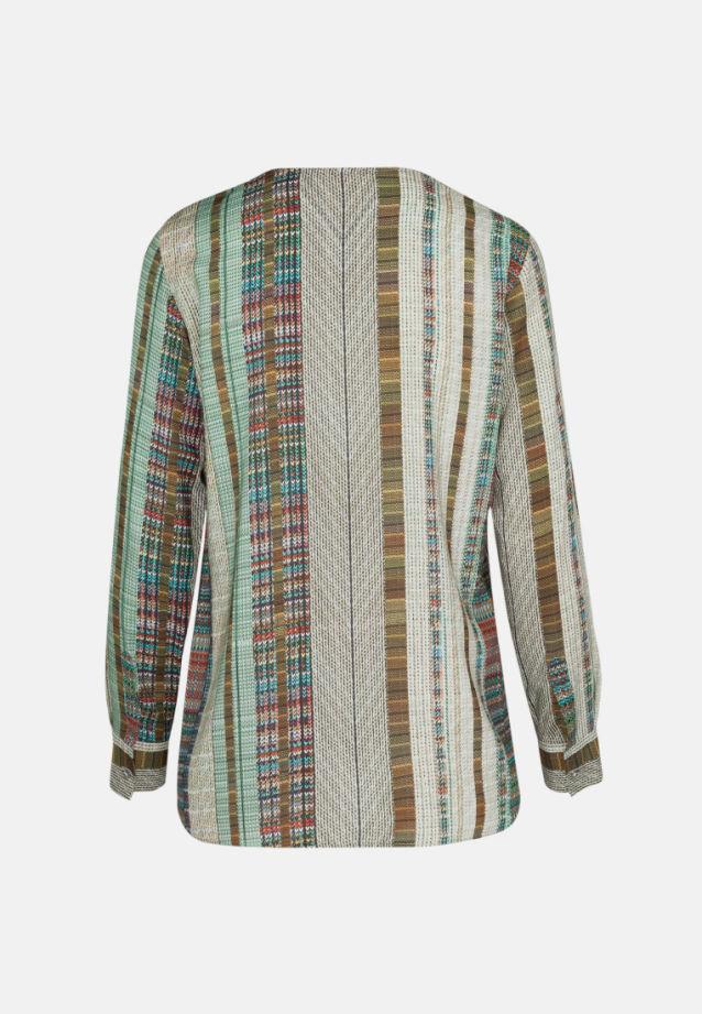 Voile Shirtbluse aus 100% Viskose in oliv |  Seidensticker Onlineshop