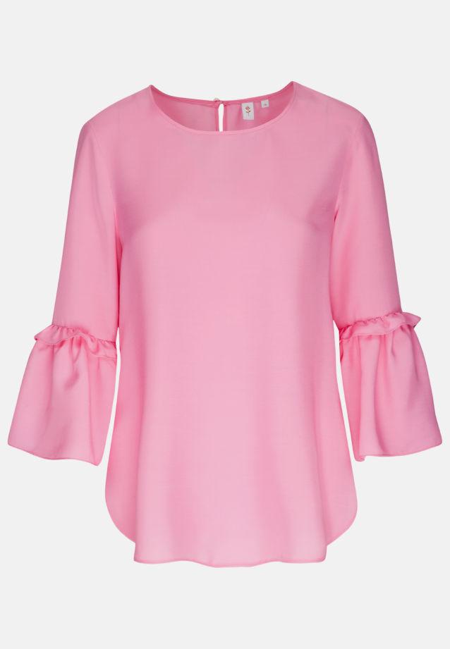3/4 sleeve Voile Shirt Blouse aus 100% Viscose in Pink |  Seidensticker Onlineshop
