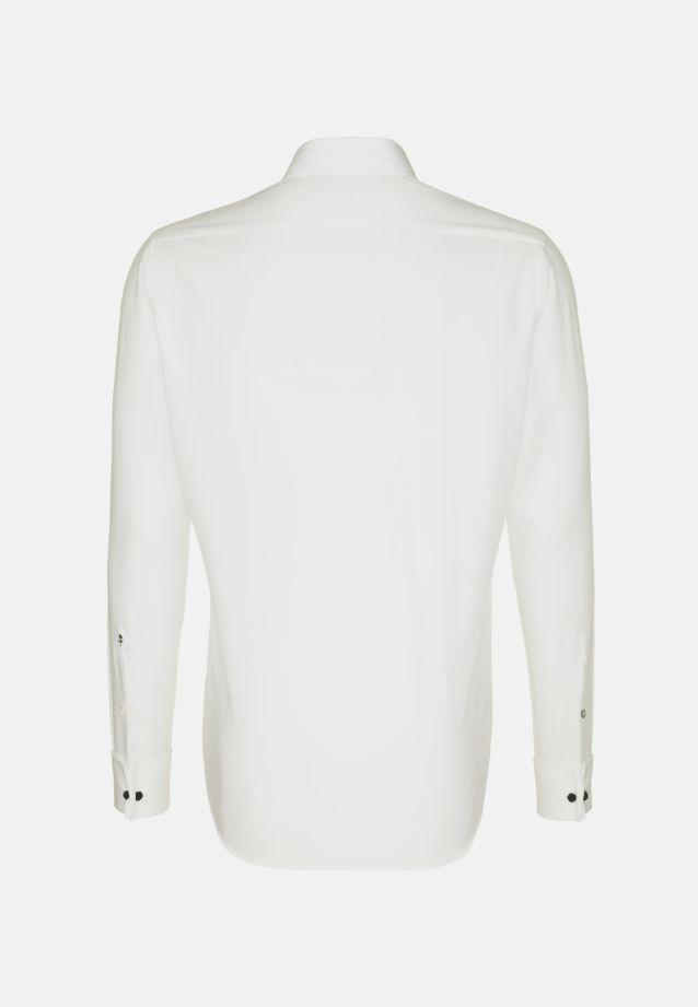 Non-iron Poplin Gala Shirt in Tailored with Kent-Collar in ecru |  Seidensticker Onlineshop