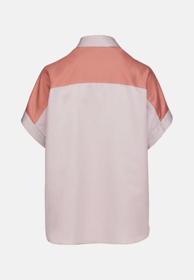 Kurzarm Popeline Oversizebluse aus in Rosa/Pink    Seidensticker Onlineshop