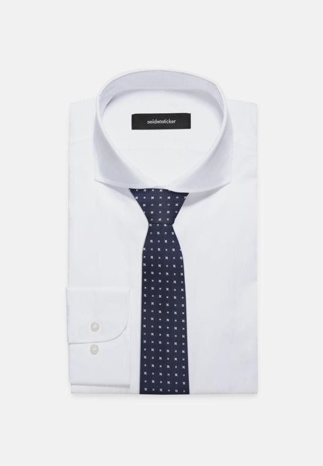 Krawatte aus 100% Seide 7 cm Breit in marine |  Seidensticker Onlineshop