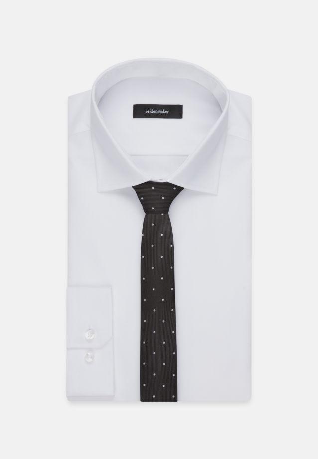 Tie made of 100% Silk 5 cm wide in Black |  Seidensticker Onlineshop