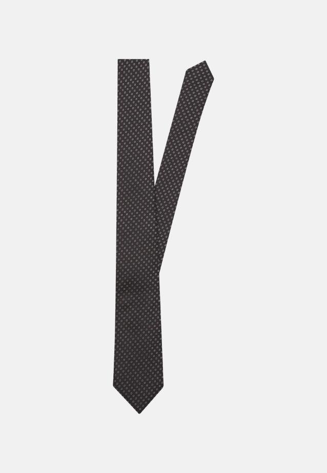 Tie made of 100% Silk 7 cm wide in schwarz |  Seidensticker Onlineshop