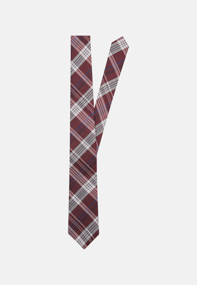 Tie made of 100% Silk 7 cm wide in Red |  Seidensticker Onlineshop