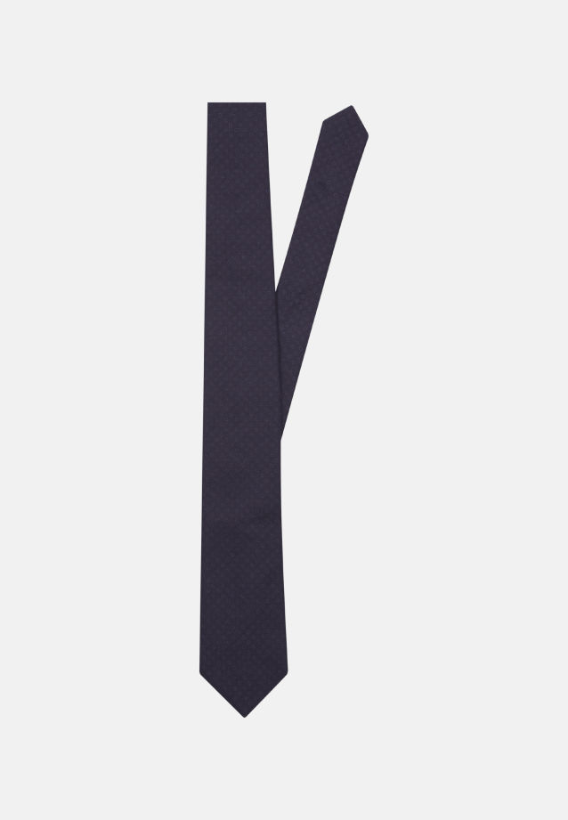 Krawatte aus 100% Baumwolle 7 cm Breit in blau |  Seidensticker Onlineshop