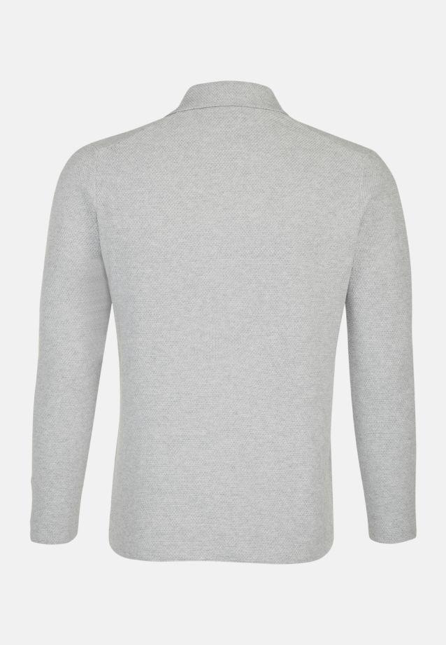 Collar Jacket made of 100% Cotton in grau    Seidensticker Onlineshop