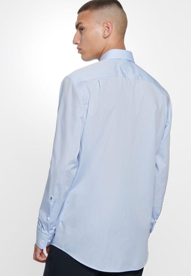 Bügelfreies Chambray Business Hemd in Comfort mit Kentkragen in hellblau    Seidensticker Onlineshop