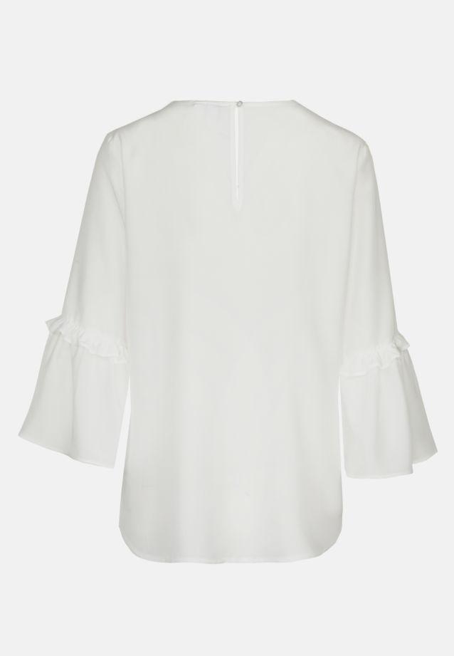 3/4 arm Voile Shirt Blouse aus 100% Viskose in Ecru |  Seidensticker Onlineshop