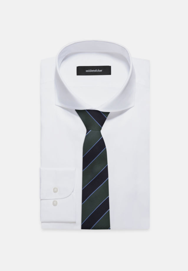 Tie made of 100% Silk 7 cm wide in Green |  Seidensticker Onlineshop