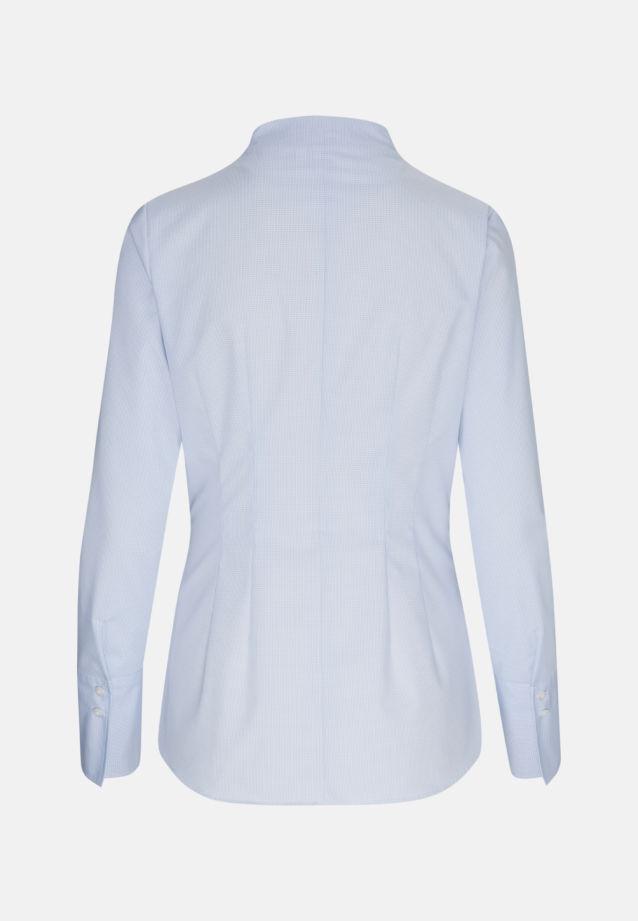 Non-iron Poplin Chalice Blouse made of 100% Cotton in hellblau |  Seidensticker Onlineshop
