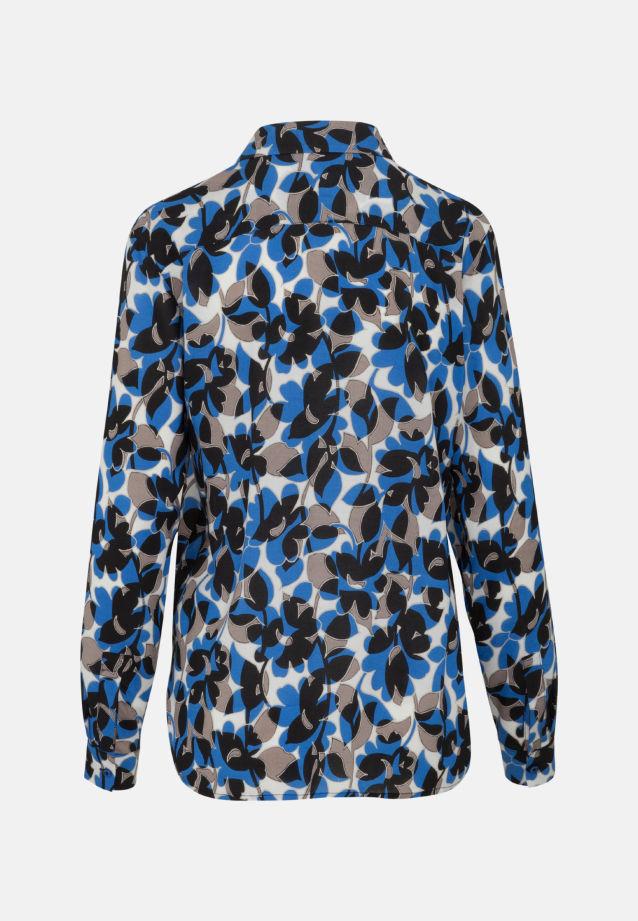 Popeline Schlupfbluse aus 100% Viskose in blau |  Seidensticker Onlineshop