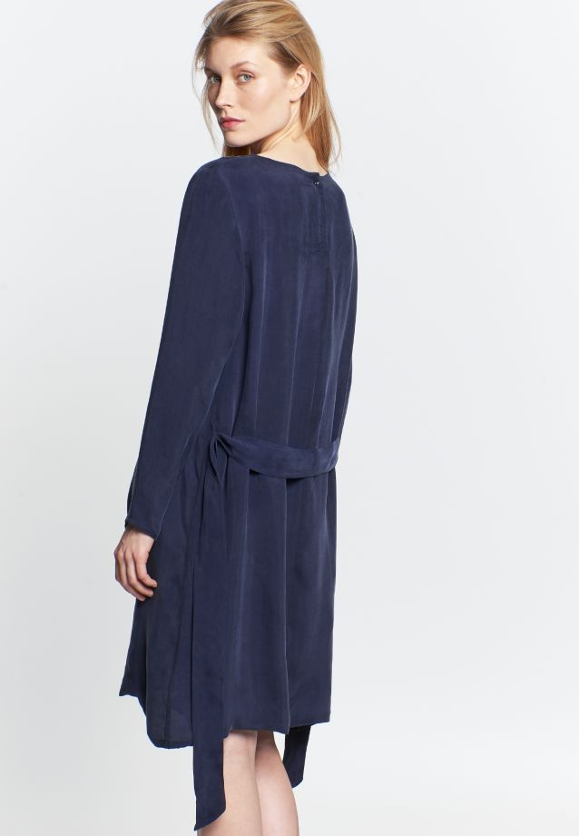 Midi Dress made of rayon blend in Dark blue |  Seidensticker Onlineshop