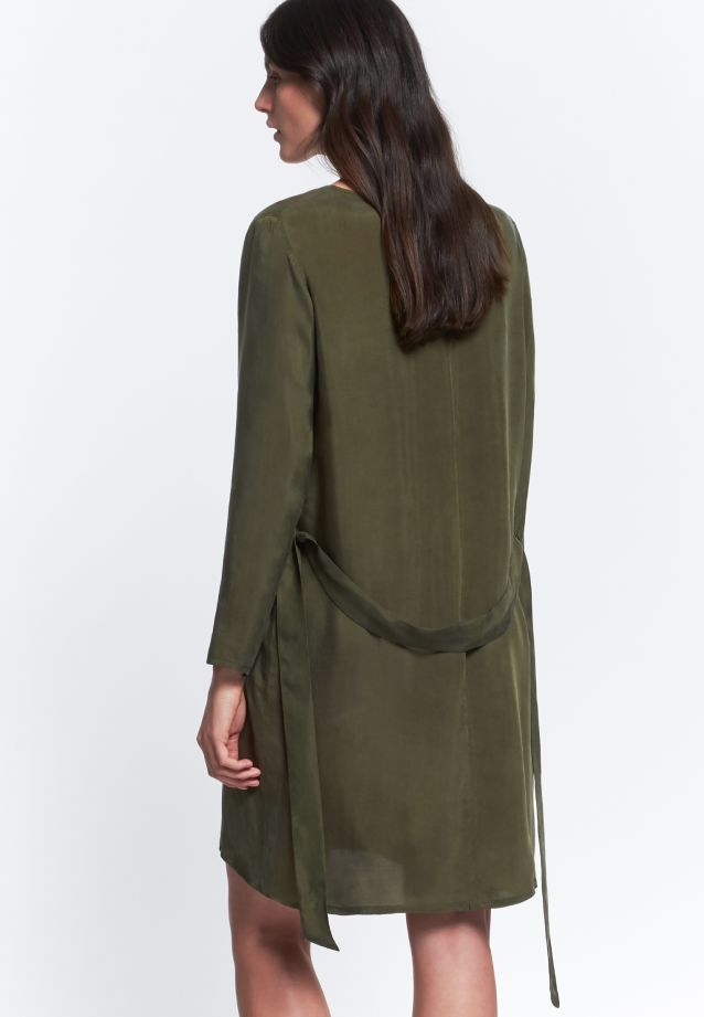 Dress made of 55% Rayon 45% Cupro in Green |  Seidensticker Onlineshop