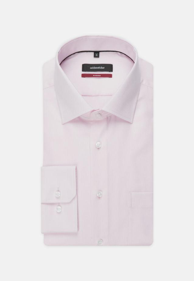 Non-iron Structure Business Shirt in Regular with Kent-Collar in Pink |  Seidensticker Onlineshop