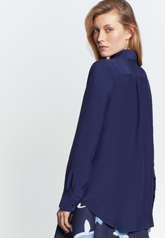 Voile Shirt Blouse made of 100% Viskose in marine |  Seidensticker Onlineshop