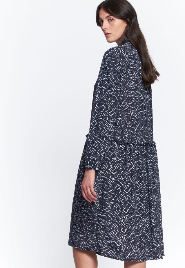 Crepe Dress made of 100% Viskose in navy |  Seidensticker Onlineshop