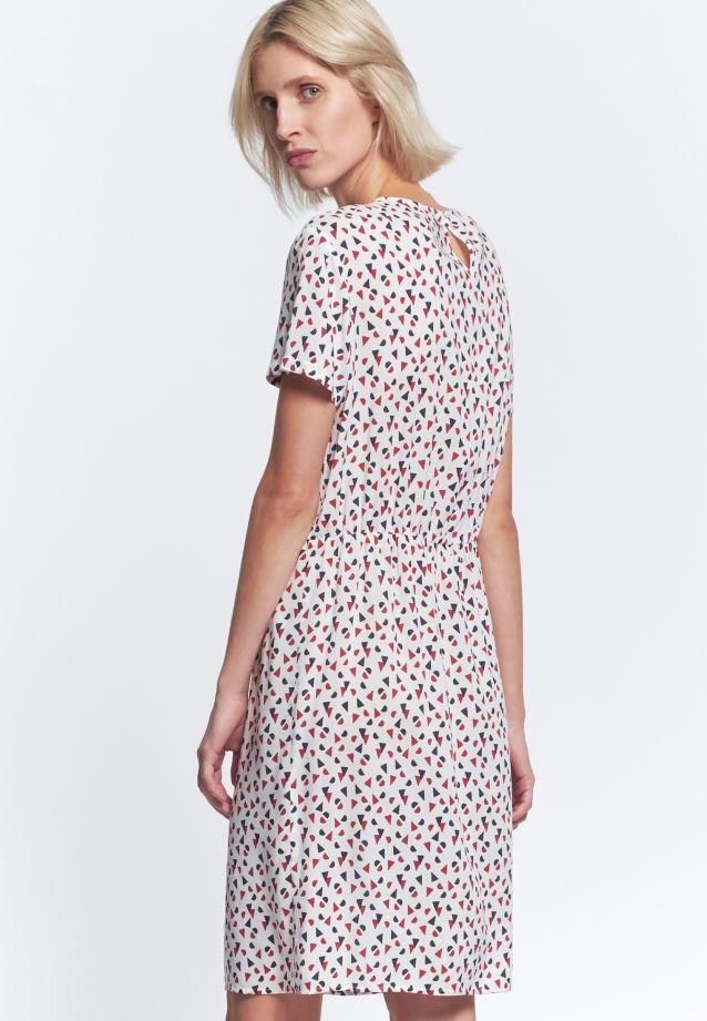 Short arm Poplin Dress made of 100% Viskose in rot |  Seidensticker Onlineshop