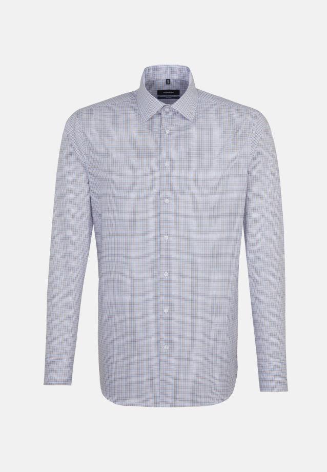 Bügelfreies Popeline Business Hemd in Tailored mit Kentkragen in Orange |  Seidensticker Onlineshop