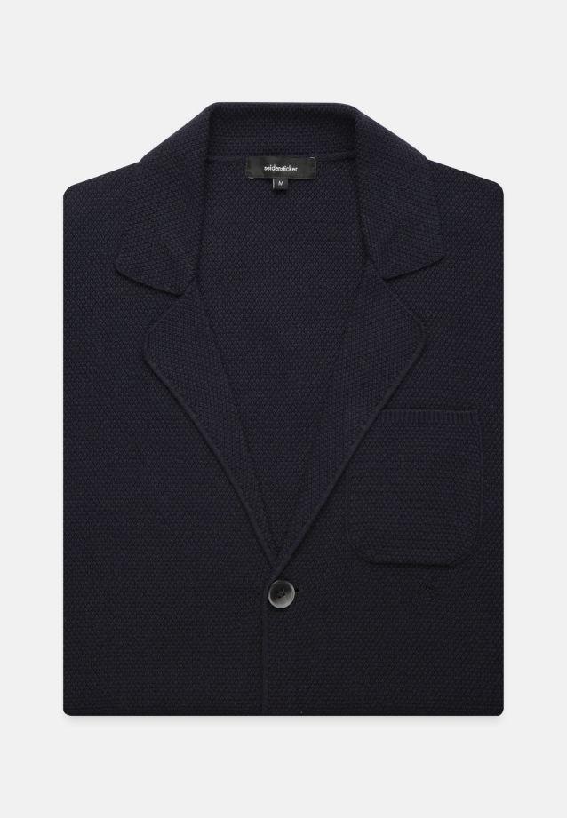 Collar Jacket made of 100% Cotton in navy    Seidensticker Onlineshop