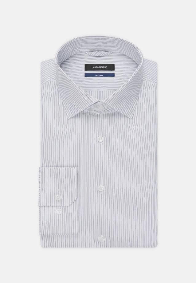 Popeline Business Hemd in Tailored mit Kentkragen in Dunkelblau |  Seidensticker Onlineshop