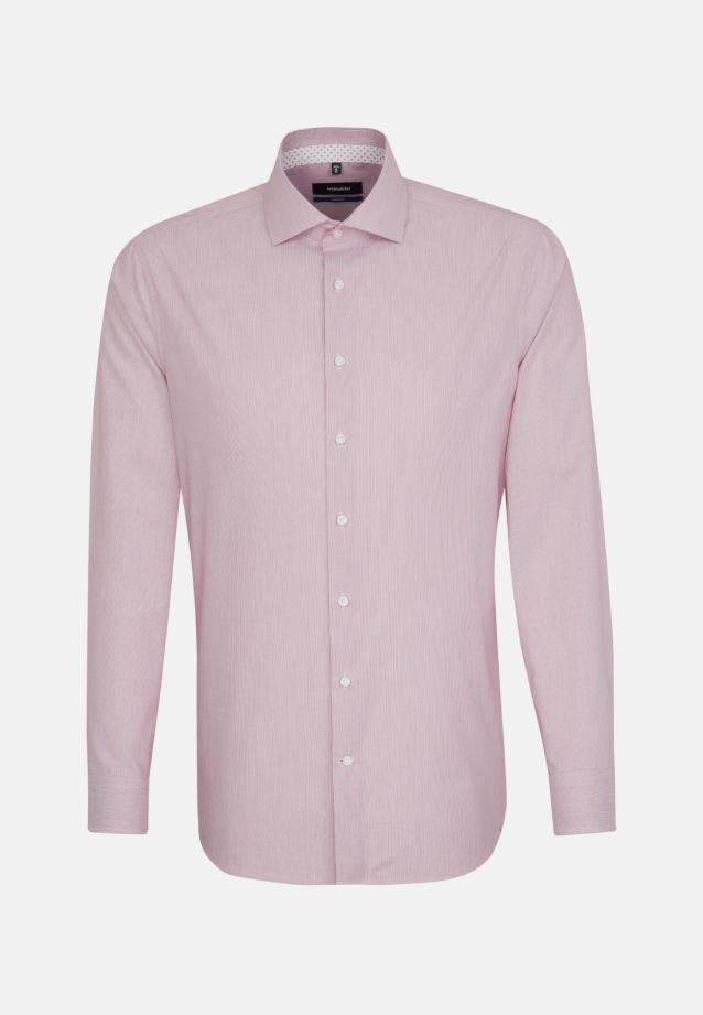 Bügelfreies Popeline Business Hemd in Tailored mit Kentkragen in rot    Seidensticker Onlineshop