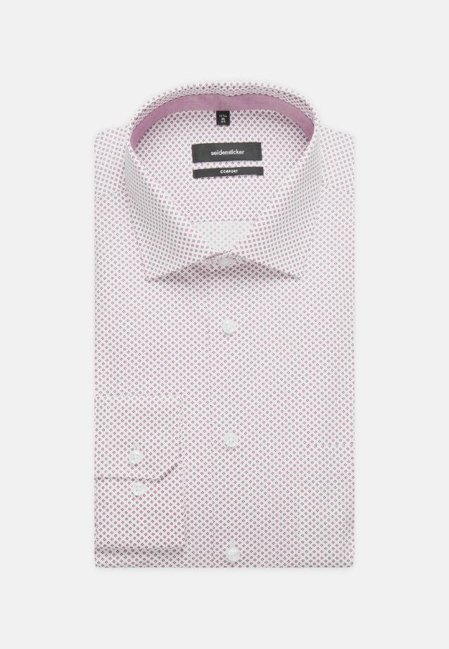 Easy-iron Poplin Business Shirt in Comfort with Kent-Collar in lila |  Seidensticker Onlineshop