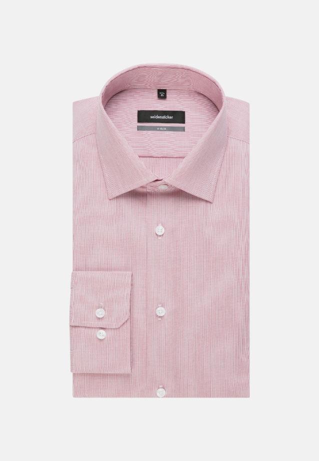 Bügelfreies Popeline Business Hemd in X-Slim mit Kentkragen und extra langem Arm in Rot |  Seidensticker Onlineshop