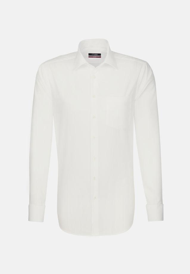 Bügelfreies Popeline Business Hemd in Modern mit Kentkragen in ecru |  Seidensticker Onlineshop