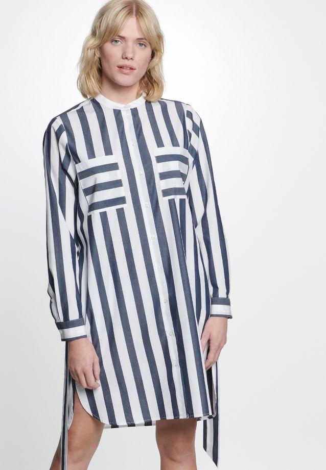 Poplin Dress made of 100% Cotton in Dark Sappphire |  Seidensticker Onlineshop