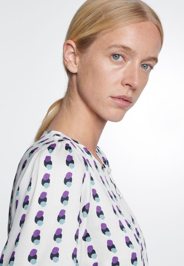 Satin Shirt Blouse made of 100% Viskose in offwhite |  Seidensticker Onlineshop