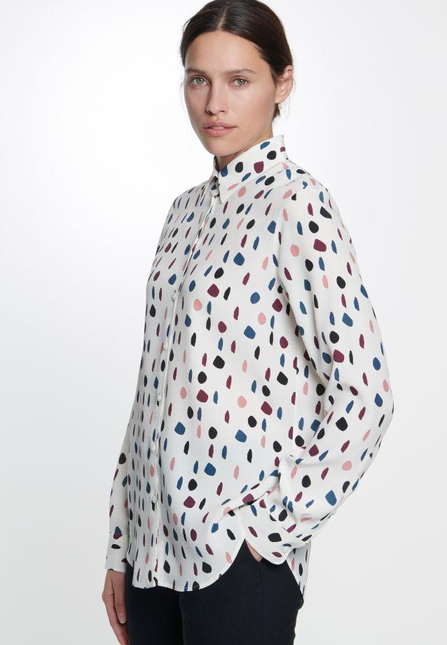Chiffon Shirt Blouse made of 100% Viscose in Ecru |  Seidensticker Onlineshop