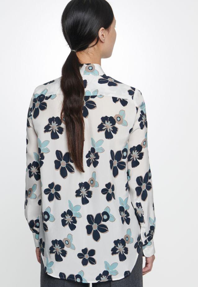 Shirt Blouse made of 100% Cupro in offwhite |  Seidensticker Onlineshop
