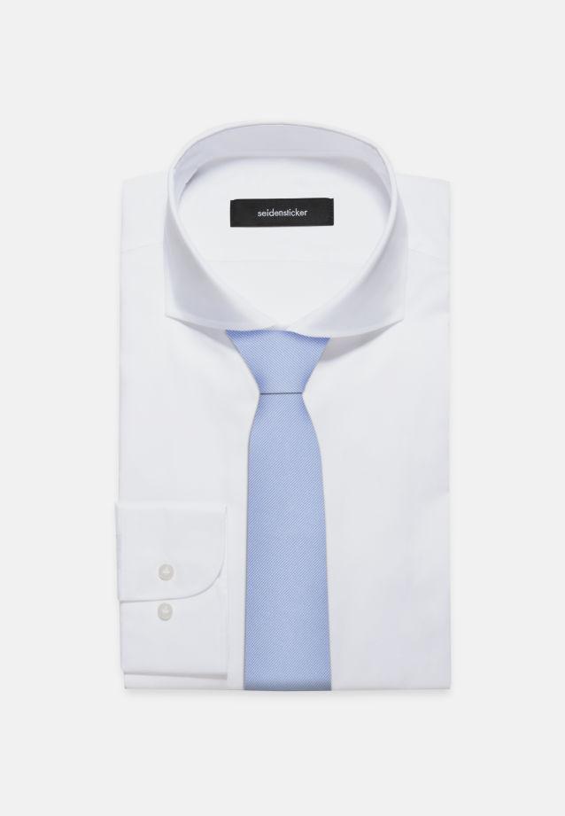 Tie made of 100% Silk 7 cm wide in uni hellblau |  Seidensticker Onlineshop