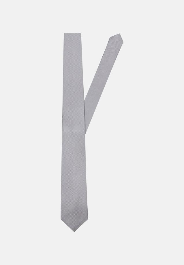 Krawatte aus 100% Seide 7 cm Breit in Grau    Seidensticker Onlineshop