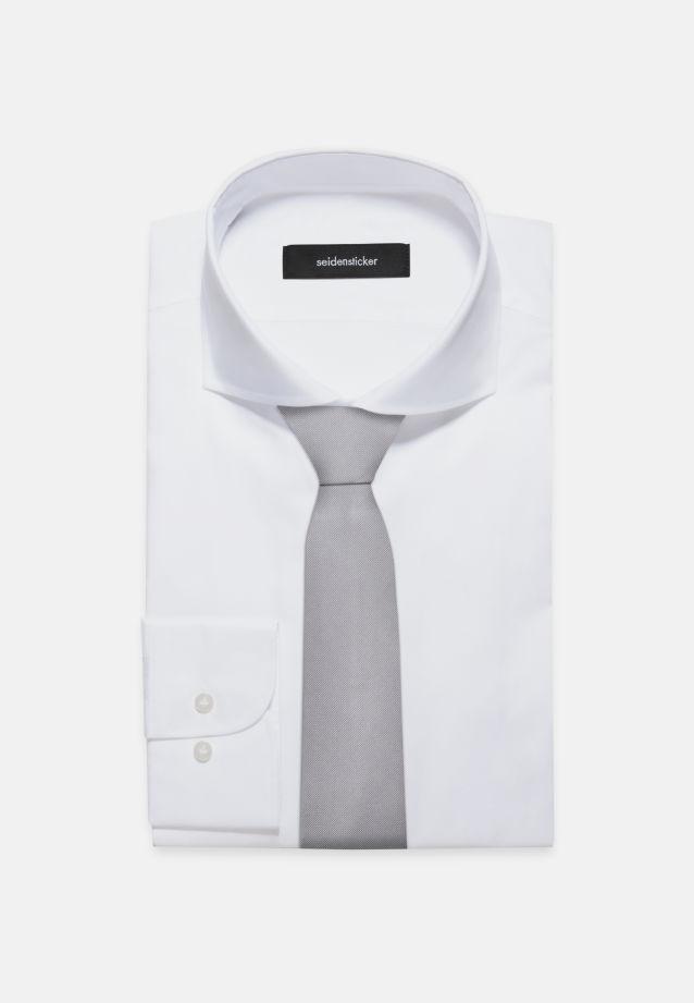 Krawatte aus 100% Seide 7 cm Breit in Grau |  Seidensticker Onlineshop