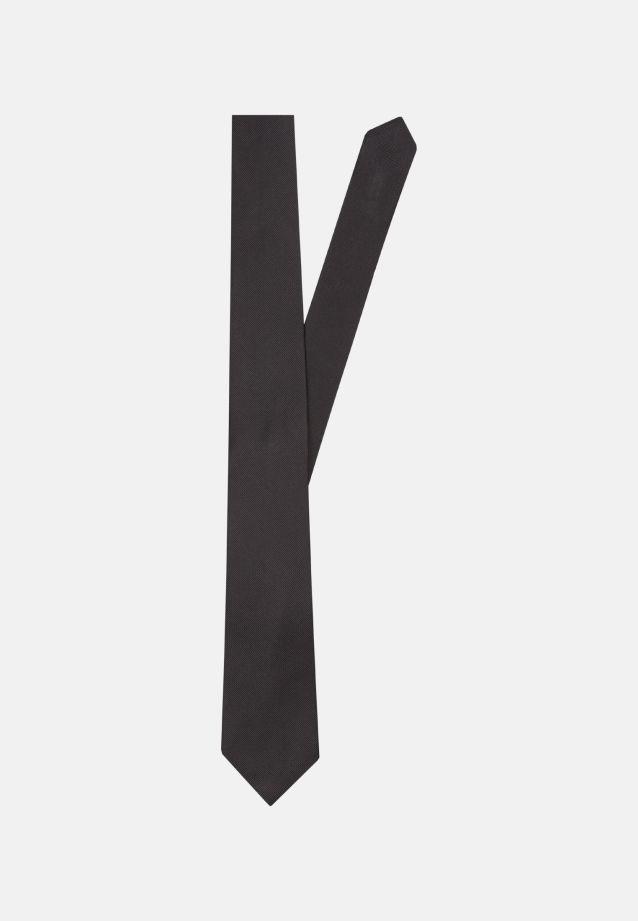 Tie made of 100% Silk 7 cm wide in uni anthra |  Seidensticker Onlineshop