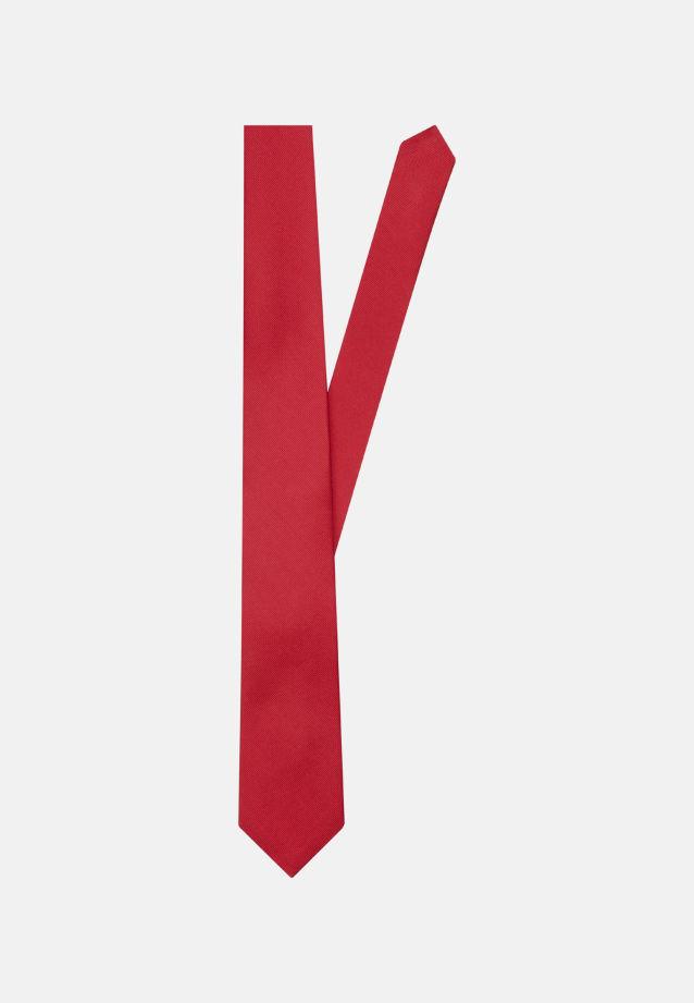 Tie made of 100% Silk 7 cm wide in uni rot |  Seidensticker Onlineshop