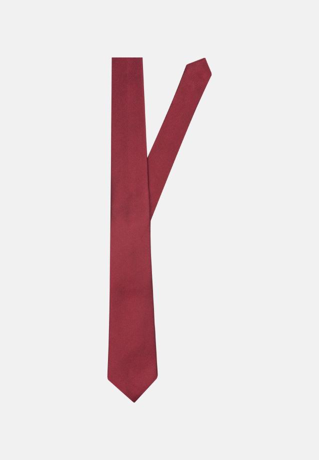 Krawatte aus 100% Seide 7 cm Breit in uni bordeaux |  Seidensticker Onlineshop