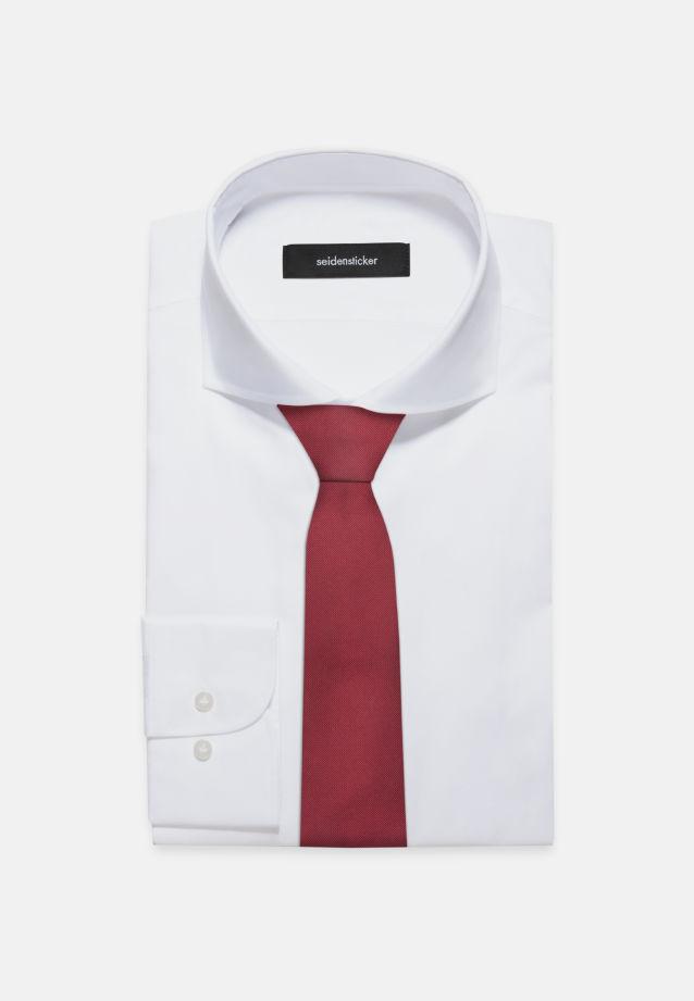 Tie made of 100% Silk 7 cm wide in uni bordeaux |  Seidensticker Onlineshop